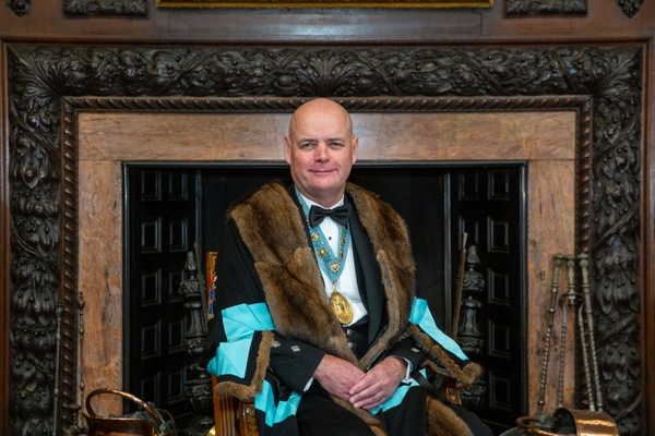 Kenny Mackay, Master of The Worshipful Company of Distillers, Master of the Quiach.