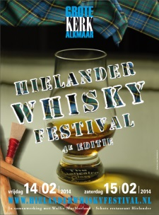 Hielander Whisky Festival 2014 advertentie