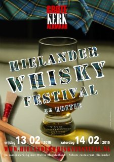 Hielander Whisky Festival 2015 advertentie
