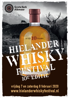 Hielander Whisky Festival 2020 advertentie